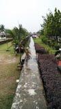 Long pathway Stock Photo