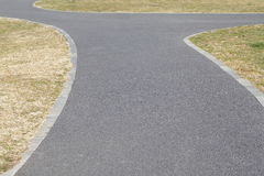 Long pathway Royalty Free Stock Images