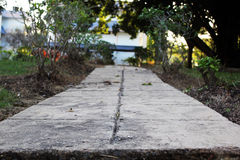 Long pathway Royalty Free Stock Image