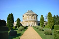 Long pathway to Ickworth Royalty Free Stock Images
