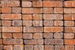 Long Paver Stack Royalty Free Stock Photos