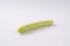 Long peeled cucumber Stock Photo