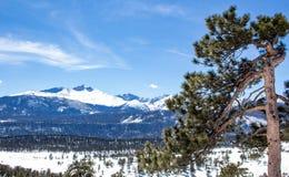 Long' pico de s em Rocky Mountain National Park imagem de stock