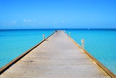 Long Pier Royalty Free Stock Image