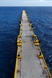 Long pier stock photography