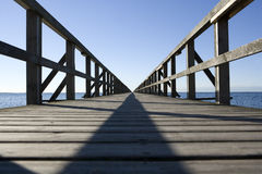 Long Pier Royalty Free Stock Photo