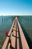 Long Pier Royalty Free Stock Photography