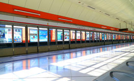 Long ping mtr station, hong kong Royalty Free Stock Photo