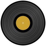 Long Play vinyl record. Created in photoshop Royalty Free Stock Image
