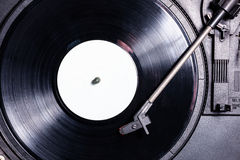 Long playing record. Vinyl is the dominant music format in the 20th century. From your 78-year-old grandmother, a 45-year-old celibate, Vinyl hearing, feeling Stock Images