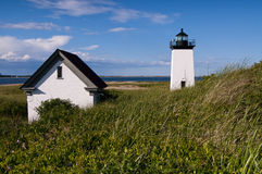 Long Point Lighthouse in Provincetown, Massachusetts Royalty Free Stock Photos