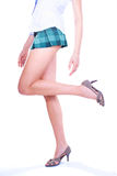 Long pretty woman legs Stock Photography