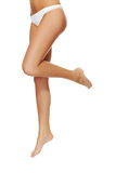 Long pretty woman legs Stock Image