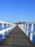 Long quai Photo libre de droits