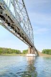 Long railway bridge Royalty Free Stock Photos