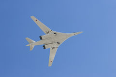 Long-range strategic bomber Stock Images