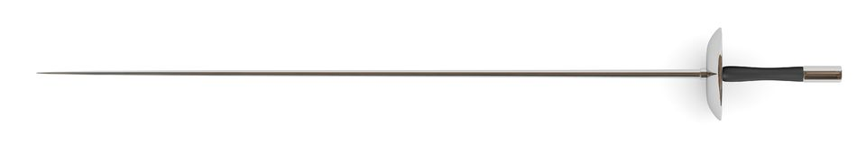 Long rapier. 3d render of long rapier sword Royalty Free Stock Images