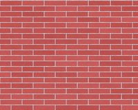 Long red brick background Royalty Free Stock Images