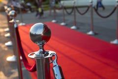 Long red carpet Royalty Free Stock Photos
