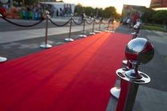 Long red carpet Royalty Free Stock Image