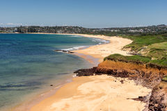 Long Reef Aquatic Reserve. On Sydney's Northern Beaches stock photography