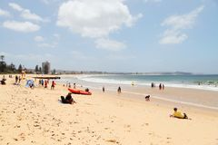 Long Reef Beach - Dee Why, Sydney Australia Royalty Free Stock Images