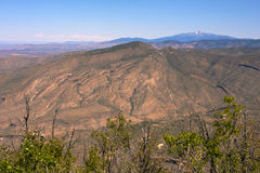Long Ridge Mountains-1. View of Long Ridge mountains in Southern New Mexico Stock Photography