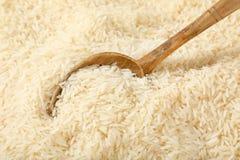 Long riz granuleux blanc Photographie stock libre de droits