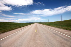 The Long Road Royalty Free Stock Photos