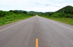Long road. Royalty Free Stock Photos