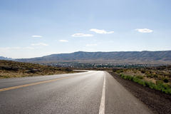 Long Road Royalty Free Stock Photo