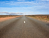 Long road ahead Stock Photography