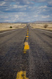 Long road in America Royalty Free Stock Photo