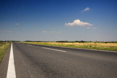 The long road Royalty Free Stock Images