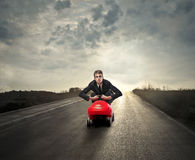 A long road royalty free stock images