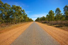 Long Road Into The Distance Royalty Free Stock Photography