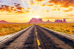 Long road Stock Images