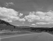 The Long Road Home. Royalty Free Stock Photo