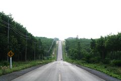 Long road Royalty Free Stock Photos