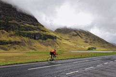 Long road between mountains, Scotland Royalty Free Stock Photo