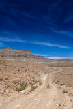 Long Road in Mountains to Bryce Canyon National Park n Utah Stat Royalty Free Stock Image