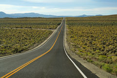 Long road to access to Grand Canyon Stock Photography