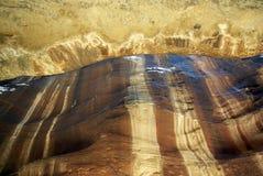 The long road to Petra. Jordan. Stock Photo