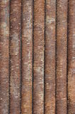Long rusted bolts Royalty Free Stock Images