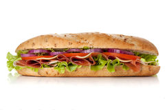 Long sandwich Royalty Free Stock Photos