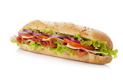 Long sandwich stock photos