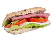 Long sandwich Stock Image