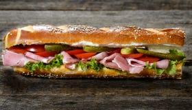 Long sandwich Images libres de droits