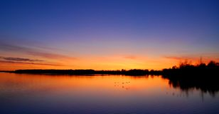 Long Sault Sunset Royalty Free Stock Images