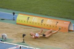 Long saut Photos libres de droits